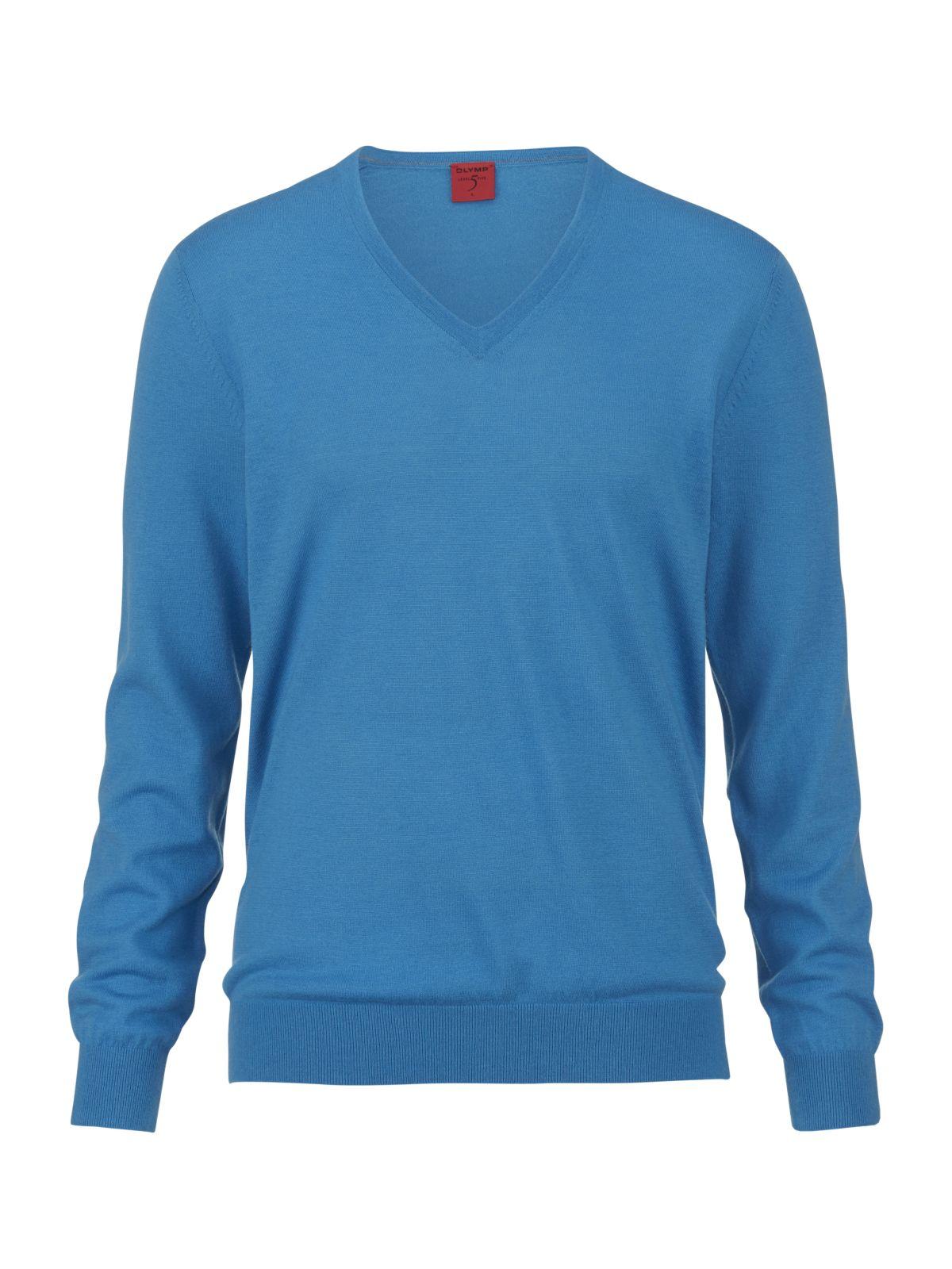 hemd so olymp level 5 v pullover extrafeine merinowolle seide himmelblau. Black Bedroom Furniture Sets. Home Design Ideas